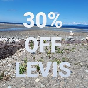 All Levi's 30% Off